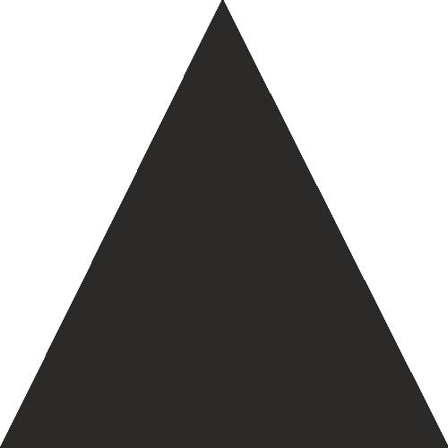 autocollant forme triangle